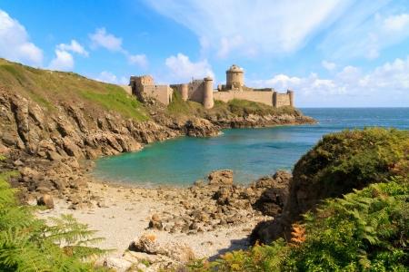 Fort La Latte, Chateau de la Roche Goyon, Brittany, France