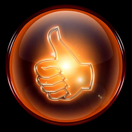 thumb up icon, approval Hand Gesture
