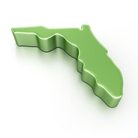 3d rendering of Florida