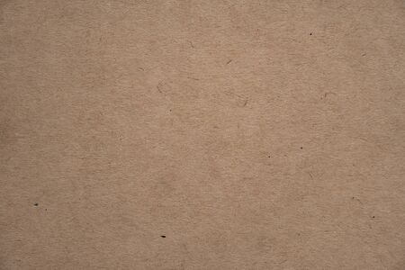 Photo pour Abstract brown recycled paper texture background or backdrop. Empty old cardboard or recycling paperboard for design element. Simple beige grainy surface for journal template presentation. - image libre de droit