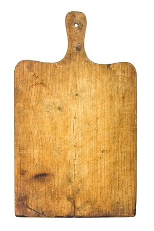 Old rustic wooden kitchen board