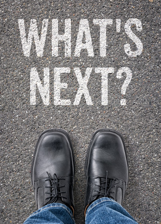 Text on the floor - Whats next
