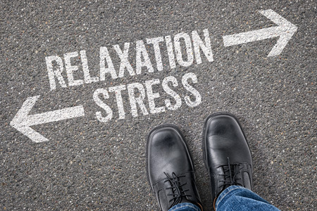 Decision at a crossroad - Relaxation or Stress