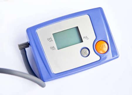 Electronic tonometer; neutral background