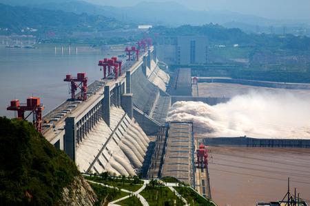 Photo pour Three Gorges Dam - image libre de droit