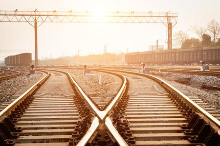 A railway track switch