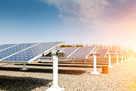 Photo for Power plant using renewable solar energy - Royalty Free Image
