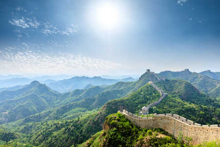 Photo pour The Great Wall of China at Jinshanling - image libre de droit