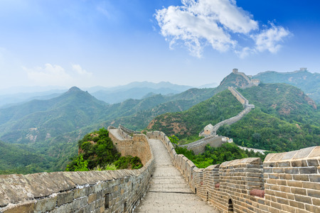 Photo pour The Great Wall of China at Jinshanling - image libre de droit