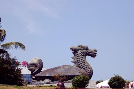 Hainan boao sculpture
