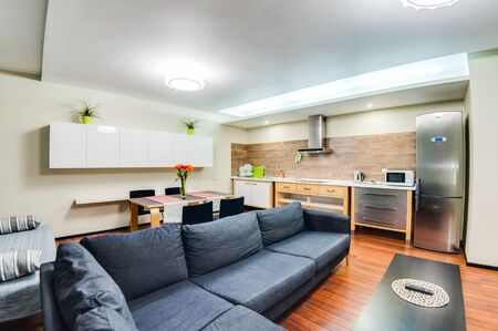 Photo pour Russia, Novosibirsk - December 29, 2015: interior room apartment. - image libre de droit