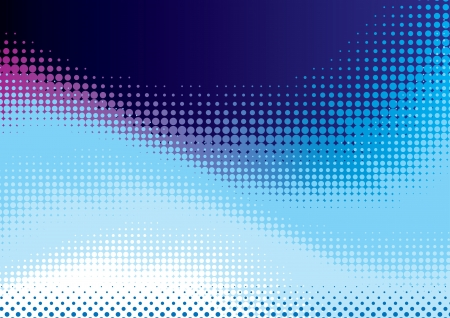 abstract background from blue halftone