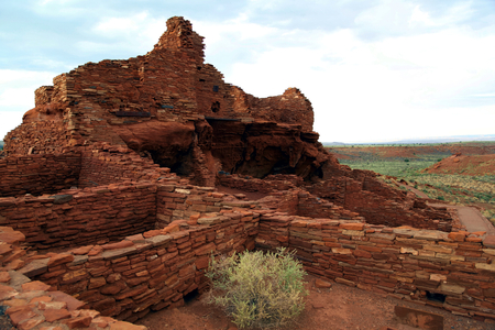 indian Pueblo in Wupatki Park
