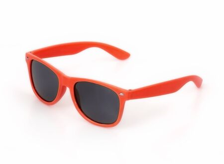 Photo pour Sunglasses isolated on white background for applying on a portrait - image libre de droit