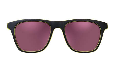 Photo pour Sunglasses isolated on white background for applying on a portrait. - image libre de droit