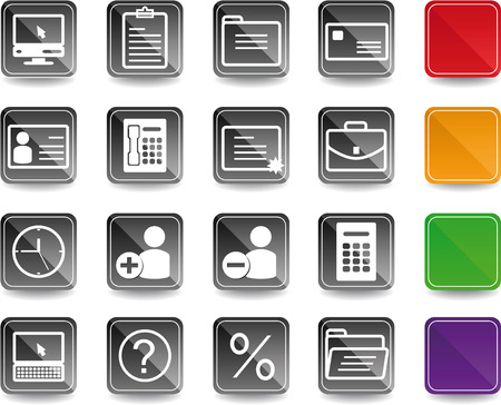 Office & Business icons 5 color option