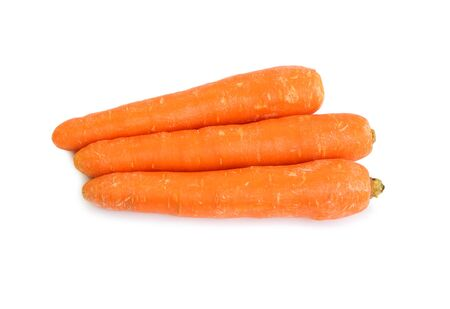 Photo for Carrot isolated on the white background - Royalty Free Image
