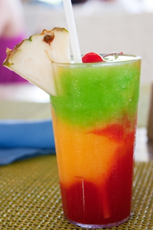 Photo for  The Bob Marley -- A drink served at a resort in Jamaica   - Royalty Free Image