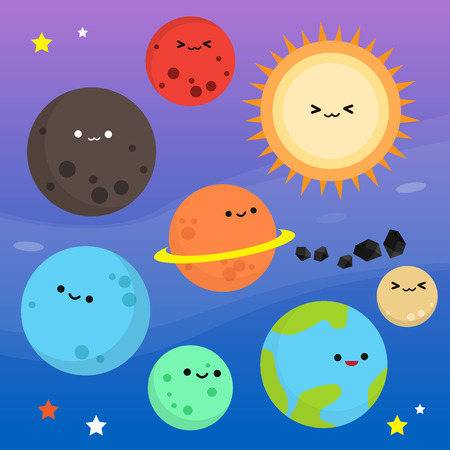 Illustration pour Planet Cartoon Clip art - image libre de droit
