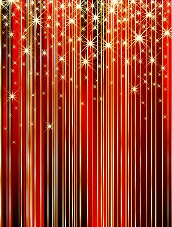 Ilustración de vector abstract wallpapet with strips and stars - Imagen libre de derechos