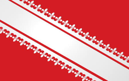 Flag of Bas-Rhin is a department in the Alsace-Champagne-Ardenne-Lorraine region of France.