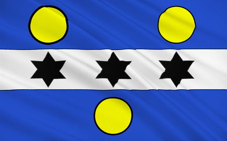 Flag of Cherbourg-Octeville is a city and former commune situated at the northern end of the Cotentin peninsula in the northwestern French department of Manche