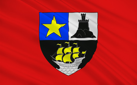 Flag of Rochefort is a commune in southwestern France, a port on the Charente estuary. It is a sub-prefecture of the Charente-Maritime department.