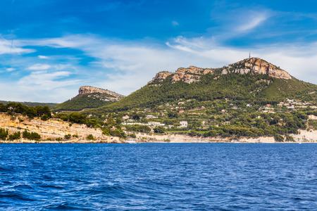 View Of Cap Canaille-The Highest Sea Cliff In France, Cassis