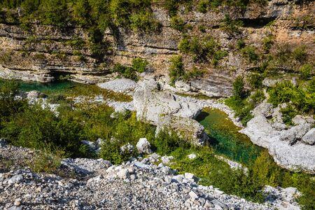 The Canyon Of Cem River - Kelmend, Malesi e Madhe, Shkodër, Albania, Europe