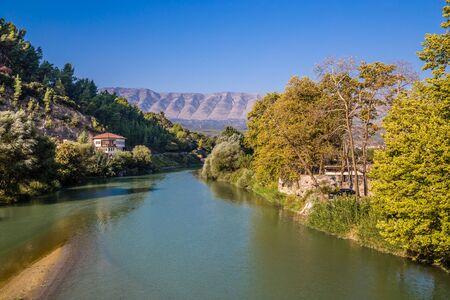 View Of Osum River - Berat, Albania, Europe