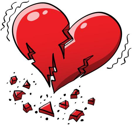 heart into pieces