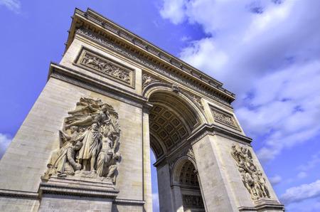 The Arc de Triomphe Paris