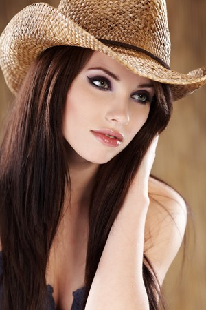 Beautiful Cowgirl