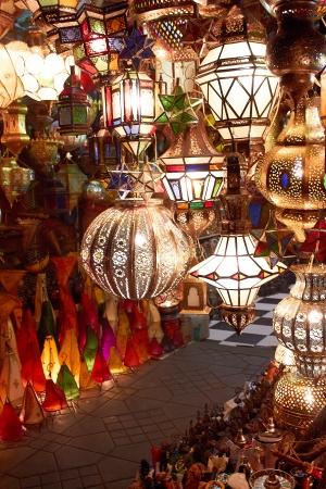 arabic lamps and lanterns
