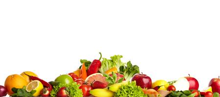 Foto für Fruit and vegetable borders  - Lizenzfreies Bild