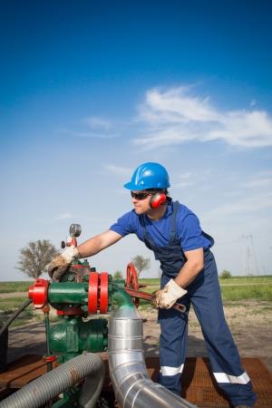 Oil engineer