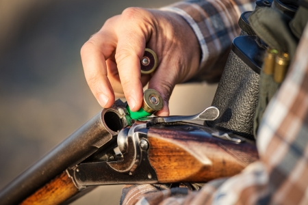 full hunter hunting rifle