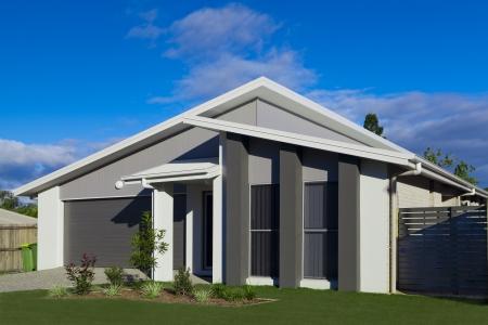 Australian suburban townhouse
