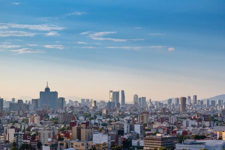 Photo pour Panoramic view of Mexico City - image libre de droit