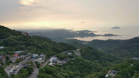 Sunset on jiufen