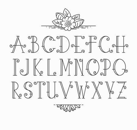 Ready made deisgns for elegant font