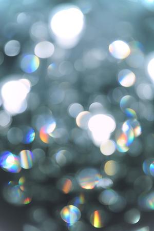 Photo pour Abstract lighting Bokeh defocused background from cristal light fixture - image libre de droit