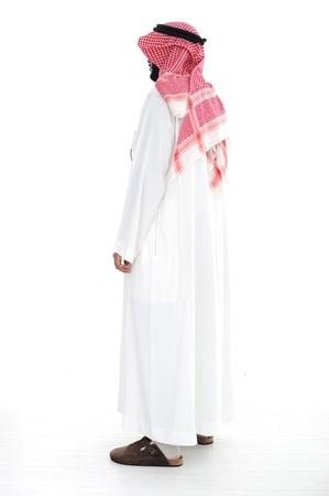 Arabic man standing