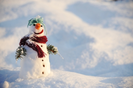 Photo for Snowman - Royalty Free Image