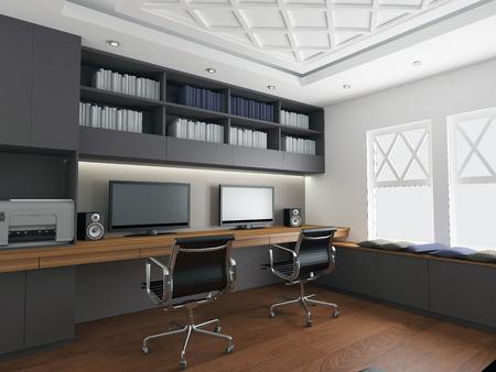 Photo pour modern office interior - image libre de droit