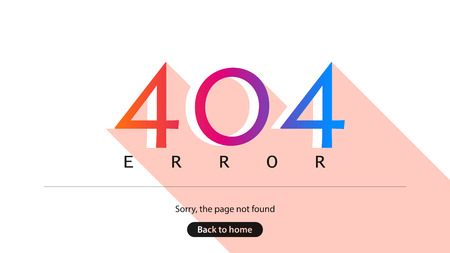 Error 404. Sorry, the page not found. Back to home.