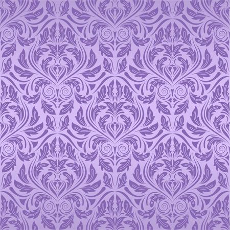 Violet Seamless Wallpaper
