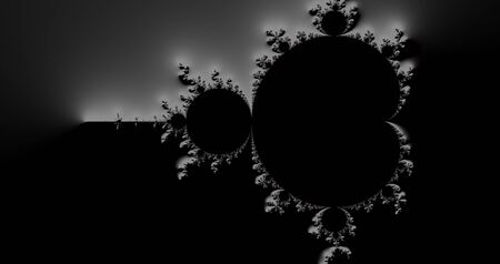 Photo for Mandelbrot fractal with a slope effect - Royalty Free Image