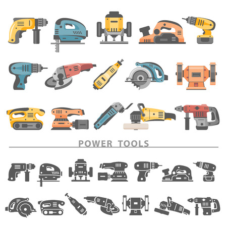 Flat Icons - Power Tools