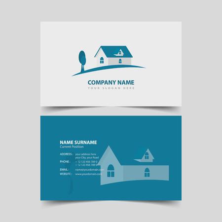Realtor Business card design template.